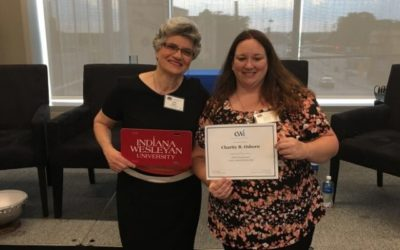 IWU CAPS STUDENT IS AWARDED EWI ANNUAL SCHOLARSHIP